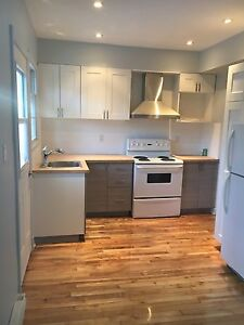 Newly renovated 4.5 lower duplex! In Montreal West. AVAIL NOW***