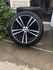 Pneus d'hivers/Winter Tires GENERAL ALTIMAX avec MAGS BMW