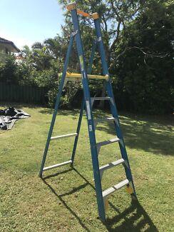 Ladder- Bailey 6 step Platform Fibreglass $150