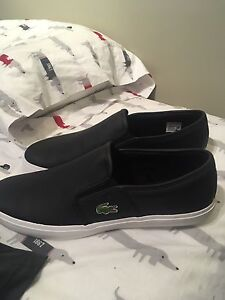 Lacoste shoes (leather/cuir)
