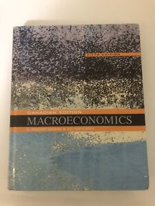 Macroeconomics fifth canadian edition kijiji in ontario buy macroeconomics 5th canadian edition mankiw and scarth fandeluxe Choice Image