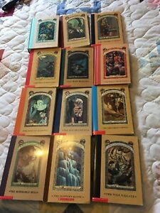 SERIES OF UNFORTUNATE EVENTS 12 books for $10