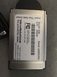 PCMCIA card for parallel port