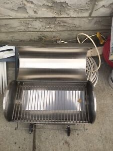 Stainless steel boat/camping bbq
