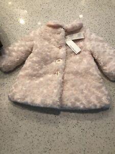 Brand new Calvin Klein girls dress coat size 12 months