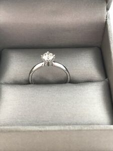 .5 ct White Gold Canadian Diamond Engagement Ring