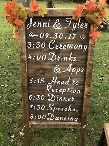 Wedding Decor & Signage