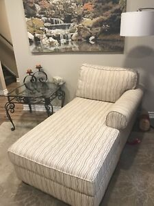 Lounge chair and end table