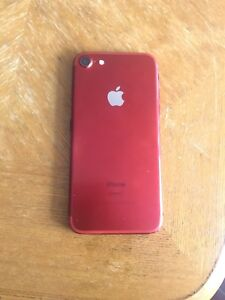 iPhone 7. 256gb. Product Red. Unlocked. Works great