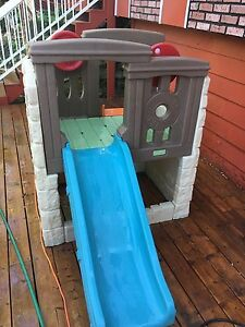 Step Two woodland climber play structure