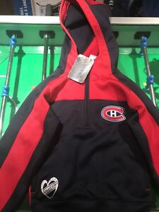 Girls Reebok youth Size 7/8 Montreal Canadians pullover