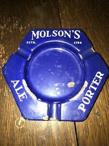 Molsons ale/porter ashtray