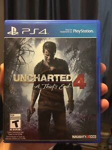 Uncharted 4 Ps4 (new)