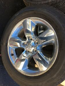 Dodge  4 rims and tires for sale