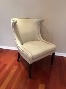 CHAIR - Wingback Side Chair Accent Chair for Sale L@@K
