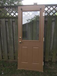 32 by 80 Exterior Steel Door!