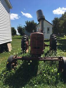 Farm All H tractor