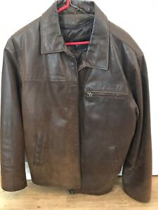 Cruze Brown Leather Jacket