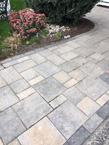 Permacon Terramo mix caramello -136sqft full skid