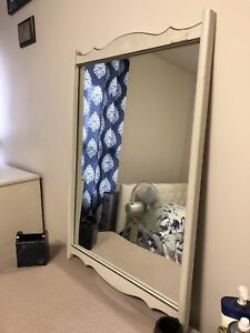 Antique French Dresser with Mirror