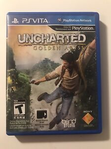 Uncharted ps vita game and else
