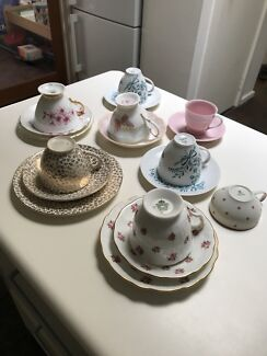 Assorted fine bone china collectable tea sets
