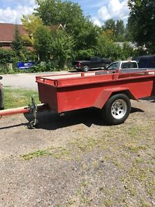 4x8 Tilting utility trailer (On Hold)