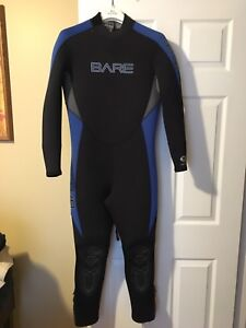 Bare 7/6 mm wetsuit with pro stretch SIZE MEDIUM
