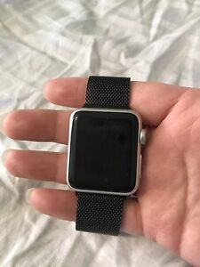 Iwatch 7000 series silver aluminum sport band