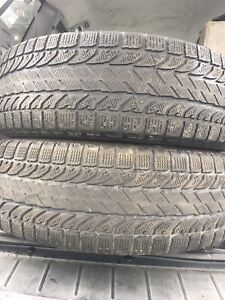 2-225/65R17 Bfgoodrich winter tires