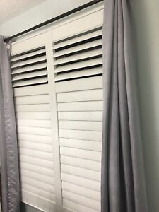 We do custom shutters and custom blinds