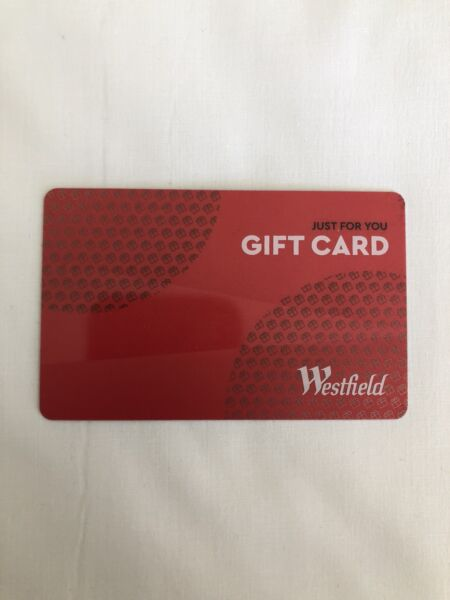 Westfield gift card miscellaneous goods gumtree australia westfield gift card negle Gallery