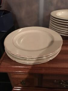 Dishes; Pier one hand painted  Tuscan Ivory Dishes