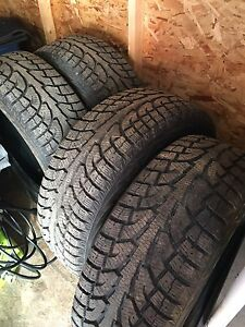 275/55/20 winter tires (studdable)
