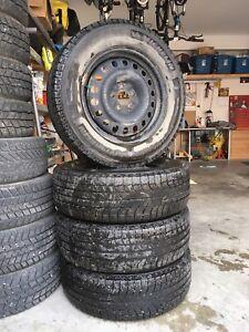 "17"" Tires on Rims"