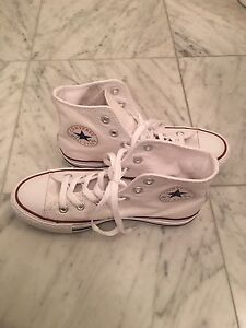 Converse Shoes  - CHUCK TAYLOR HI White Sneakers  NEW $49