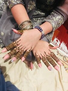 Henna artist available for all wedding events!
