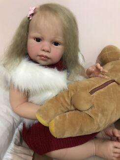 "Reborn toddler 26"" Baby Doll lifelike"
