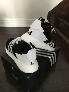 Brand new White Mountaineering NMD_R2 shoes. Size 9