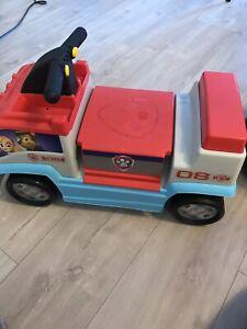 Paw patrol toddler car