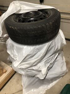 Michelin X-Ice Winter Tires with Rims 205/65R15