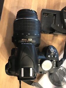 Nikon d3100 with 18-55 in excellent condition