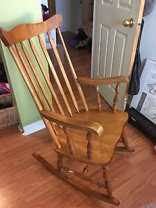 Bass River solid wood rocking chair