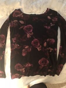 Cold shoulder top from Le Chateau - NWT