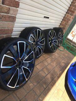 Holden ve rims 22 inch