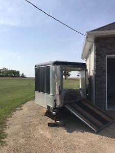 Snowmobile trailer (4 sleds)