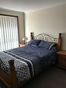 Queens size bed and Bedroom suite  Quakers Hill Blacktown Area Preview