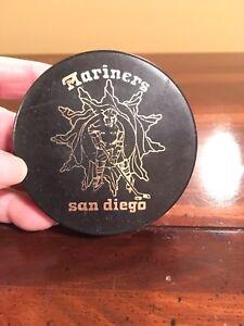San Diego Mariners WHA Puck