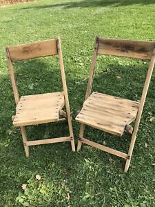 Retro Folding Chairs