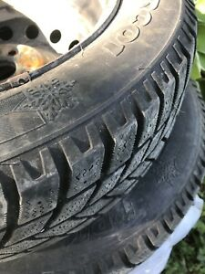"""14"""" Winter tires for Yaris or other small car."""